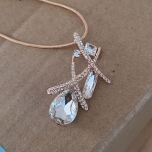 Fashion Necklace in Rose Gold